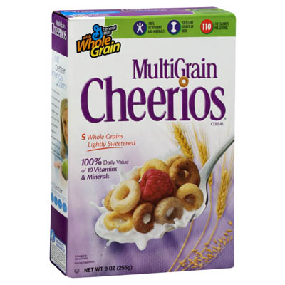 General Mills Cheerios Multigrain