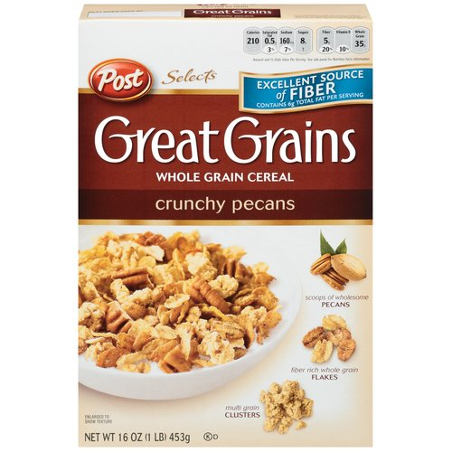 Cereal Nutrition Scores