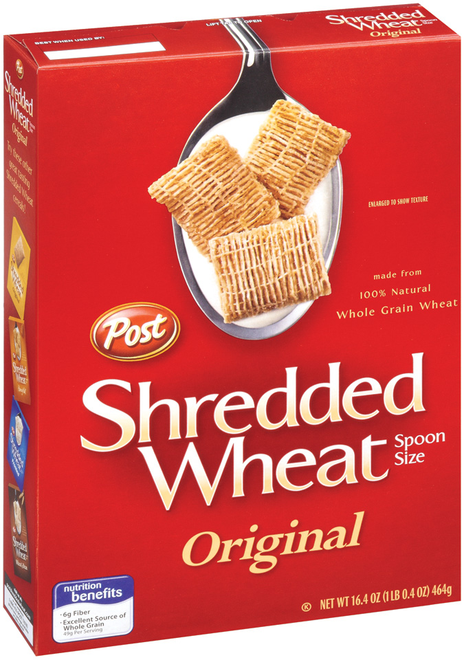 Post Shredded Wheat spoon size Original